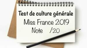 Passez le test de culture générale des Miss France ! (2e partie)
