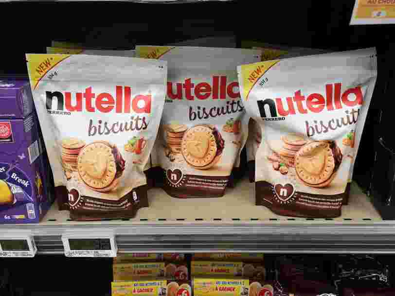 Nutella et Milka font un carton avec leurs nouveaux produits