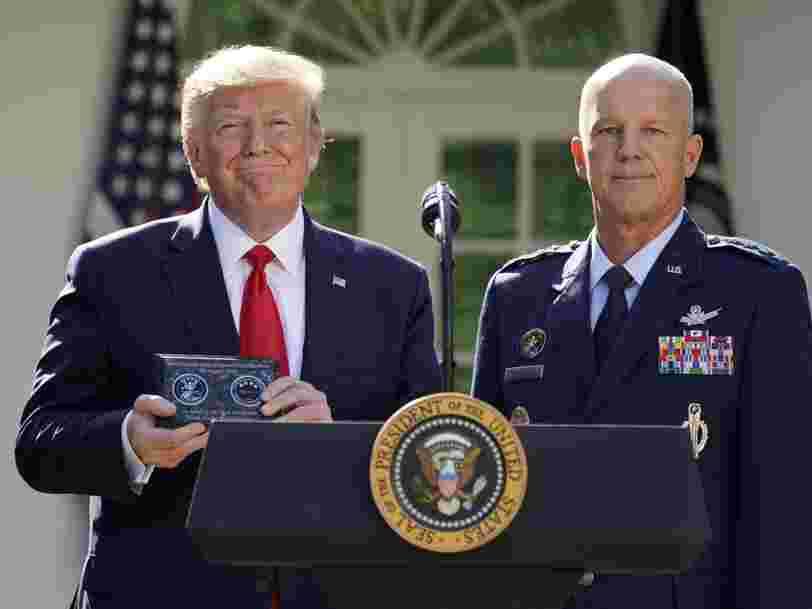 Donald Trump a lancé un commandement militaire de l'espace