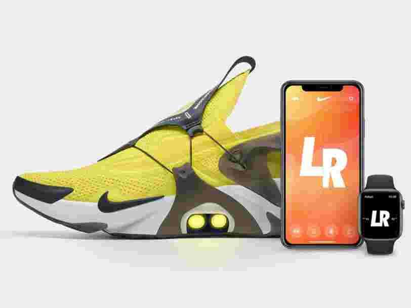 Avec Nike, on pourra demander à Siri de lacer ses chaussures