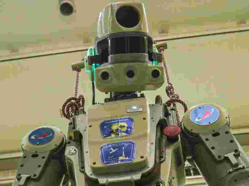 Voici comment vous pourrez suivre les aventures de FEDOR dans l'espace, le robot envoyé par la Russie sur l'ISS