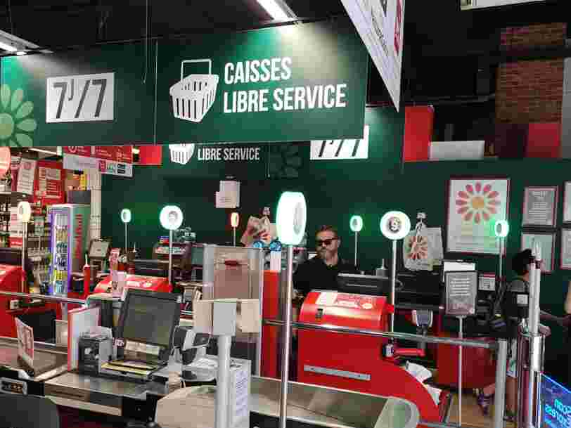 Casino a renoncé ce dimanche à ouvrir son hypermarché Géant de Haute-Loire en mode automatisé
