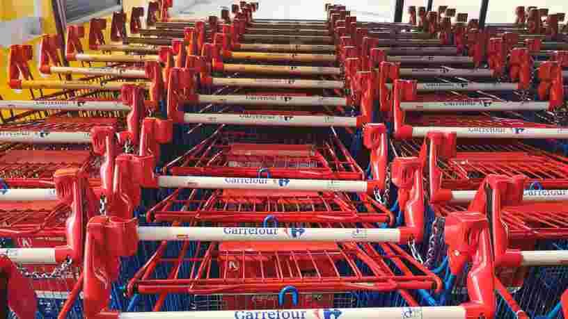 Carrefour retrouve des couleurs et voit sa part de marché progresser en France