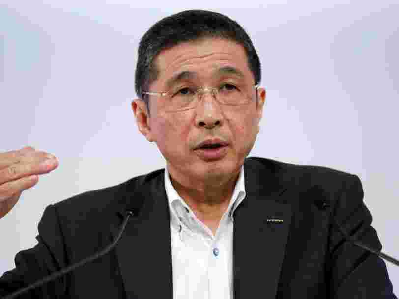 Le patron de Nissan s'est excusé pour avoir touché trop d'argent