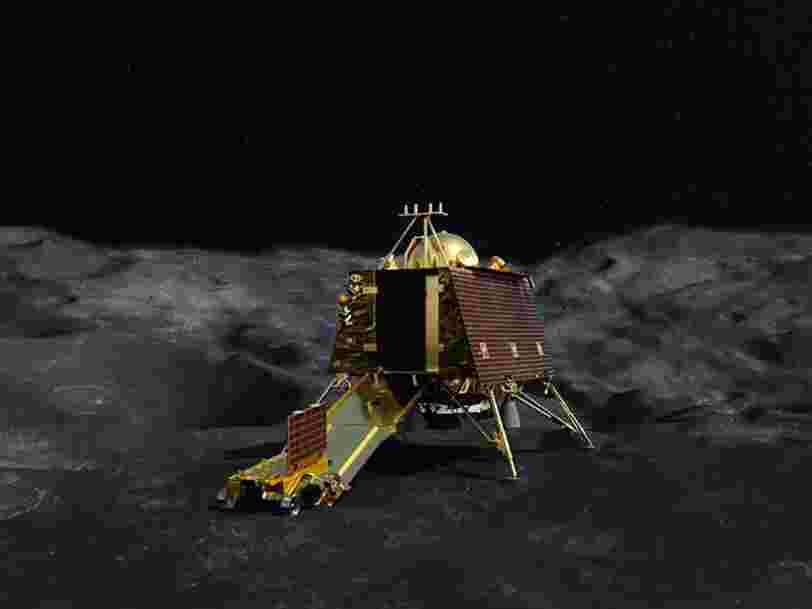 Pourquoi l'atterrissage sur la Lune de la mission indienne peut se résumer à '15 minutes de terreur'