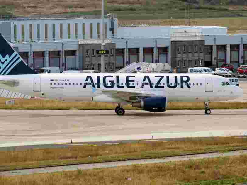 Les passagers d'Aigle Azur ne devraient pas compter sur un remboursement pour leur vol annulé