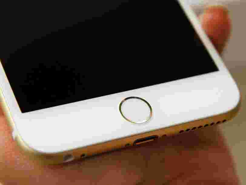 Apple travaillerait enfin sur un iPhone avec un capteur d'empreintes digitales sous l'écran