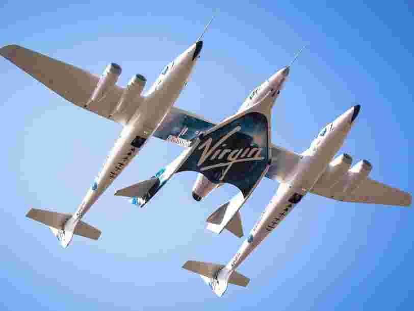 Richard Branson et son entreprise Virgin Galactic prévoient d'envoyer toutes les 32 heures des gens dans l'espace