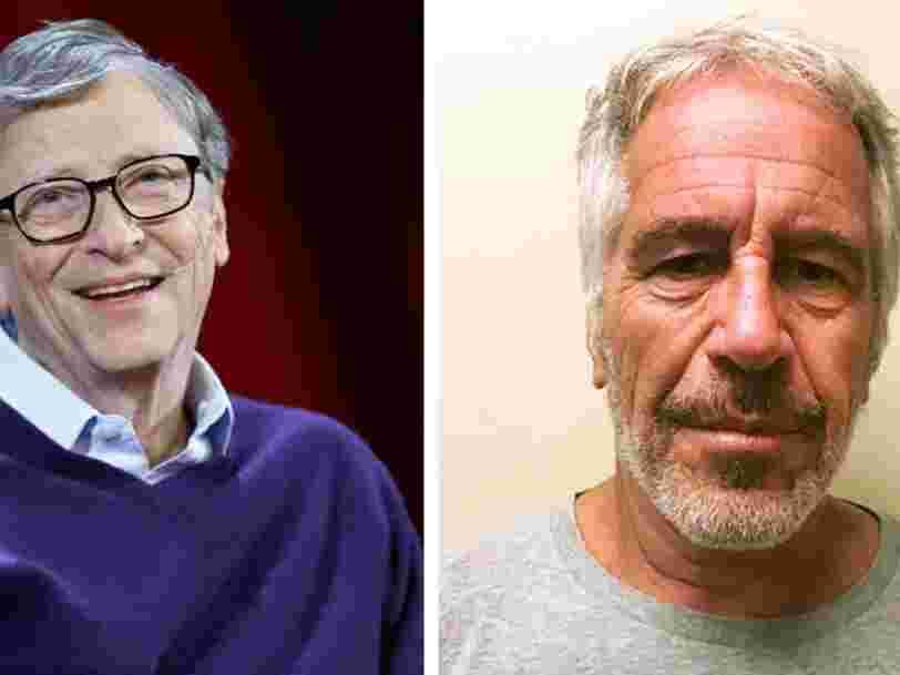Bill Gates aurait été incité par Jeffrey Epstein à faire un don au MIT, voici les liens entre les deux hommes