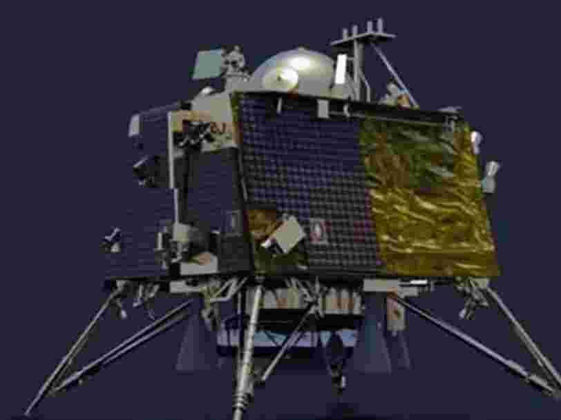 L'Inde a retrouvé son atterrisseur lunaire Vikram mais n'arrive pas à entrer en contact avec lui
