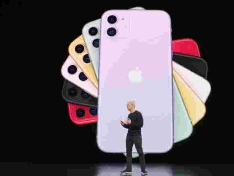 iPhone 11, iPad, Apple Watch... Voici tout ce qu'Apple a annoncé lors de sa keynote