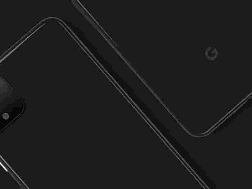 Google dévoile le design du prochain Pixel 4 pour contrer les fuites