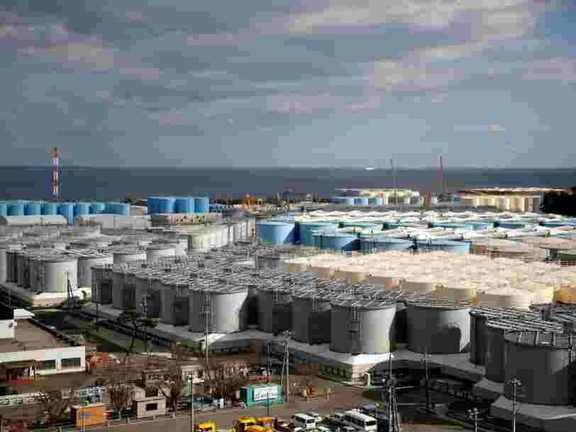 Le Japon compte évacuer l'eau radioactive de Fukushima dans l'océan