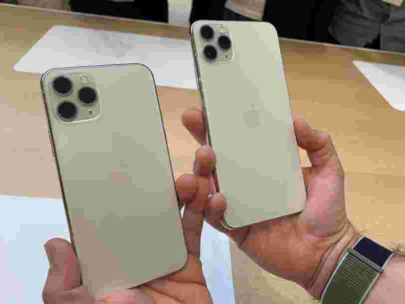iPhone 11 : ce qui m'a le plus frappée après une première prise en main des smartphones Apple