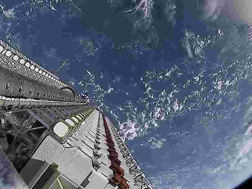 SpaceX a ajouté 60 nouveaux satellites à sa méga constellation Starlink