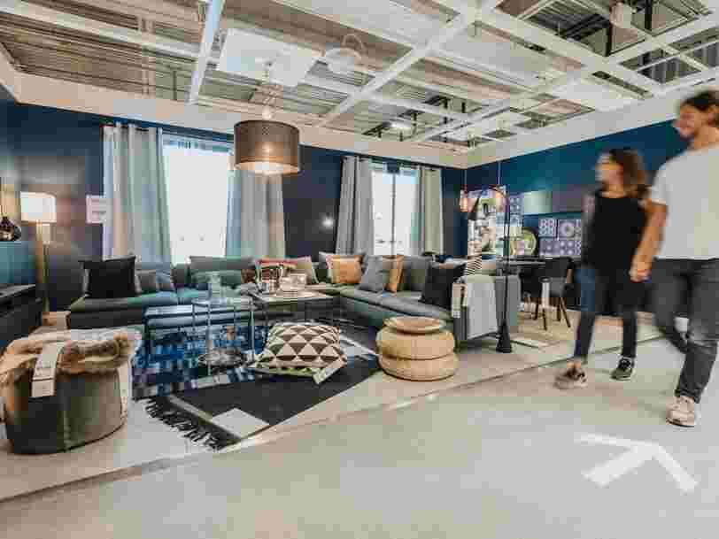 Voici à quoi ressemble le magasin Ikea qui a ouvert à Lyon, le plus grand de France