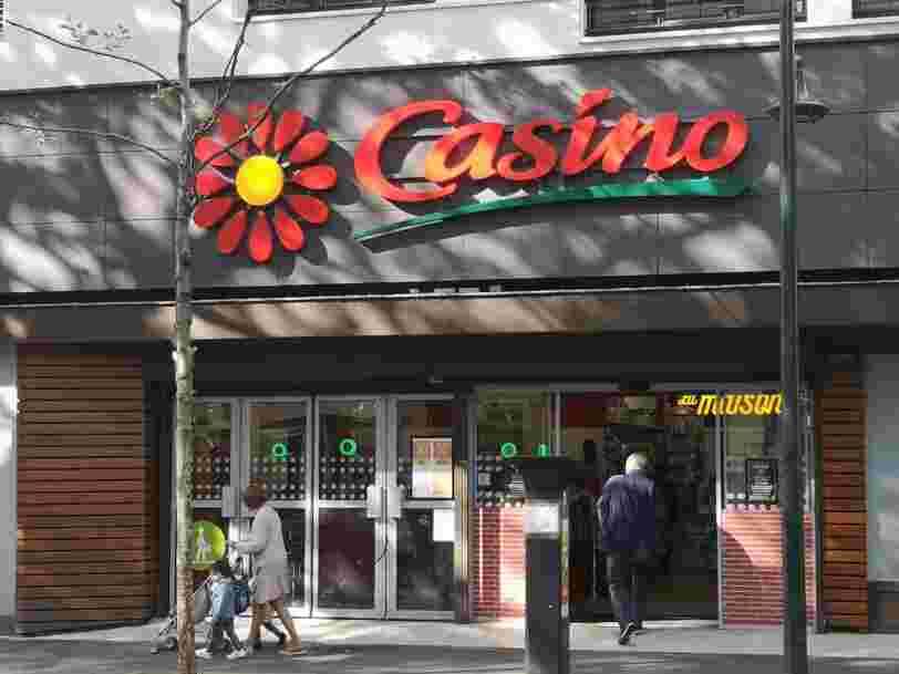 Carrefour dément tout projet de rachat de Casino