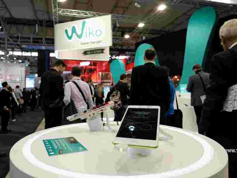 La marque de smartphones Wiko née à Marseille va se séparer d'au moins 30% de ses salariés en France