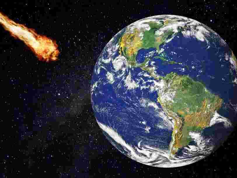 L'Europe a identifié 878 astéroïdes pour lesquels il existe un risque de collision avec la Terre dans les 100 années à venir