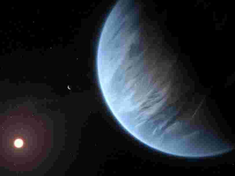 Des scientifiques ont découvert de la vapeur d'eau sur une super-Terre potentiellement habitable pour la première fois