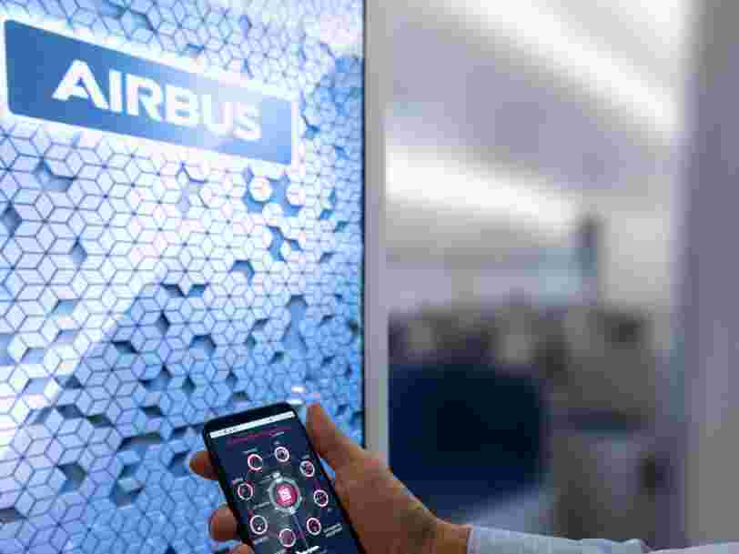 Airbus teste une cabine connectée qui va suivre tout ce que vous faites à bord, y compris vos visites aux toilettes