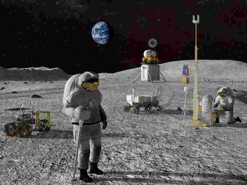 La NASA accélère son appel à projet pour les atterrisseurs qui enverront des humains sur la Lune en 2024