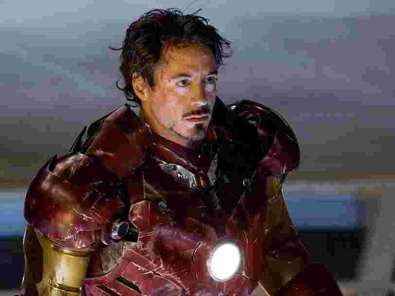 Marvel dévoile une scène inédite d''Iron Man' faisant référence à Spider-Man et aux X-Men