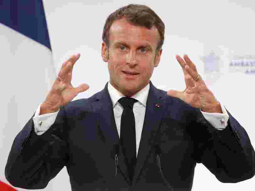 Emmanuel Macron fait le VRP de la French tech en promettant 'plusieurs milliards d'euros' aux startups