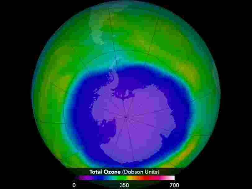 Le trou dans la couche d'ozone pourrait atteindre sa plus petite taille depuis 30 ans