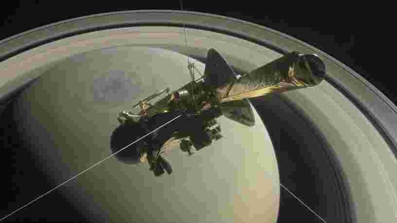 Les dernières données capturées par la sonde Cassini donnent une raison de plus pour penser qu'une lune de Saturne réunit les conditions propices à la vie