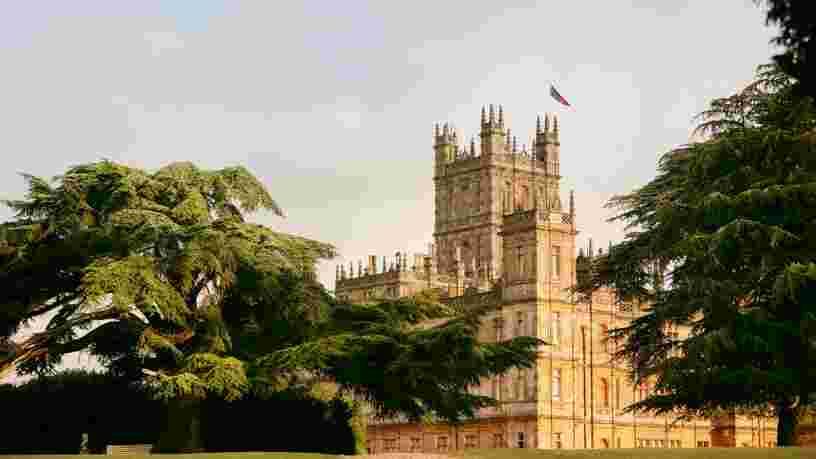 Airbnb vous propose de passer une nuit dans le château de 'Downton Abbey', voici à quoi ressemblera votre séjour