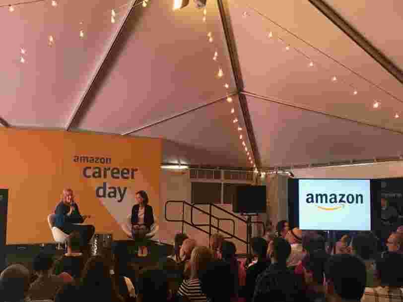 La dirigeante d'Amazon chargée du recrutement révèle ce qu'il faut faire pour décrocher un job chez le géant de l'e-commerce