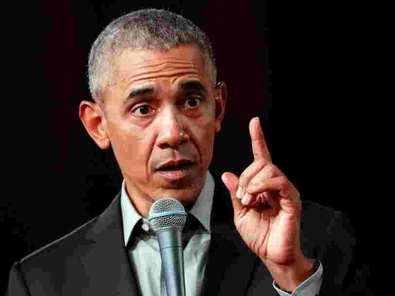 Barack Obama pense que les présidents devraient éviter de regarder la télé et les réseaux sociaux pour prendre une décision