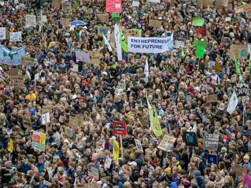 Ces photos montrent l'ampleur des marches pour le climat à travers le monde