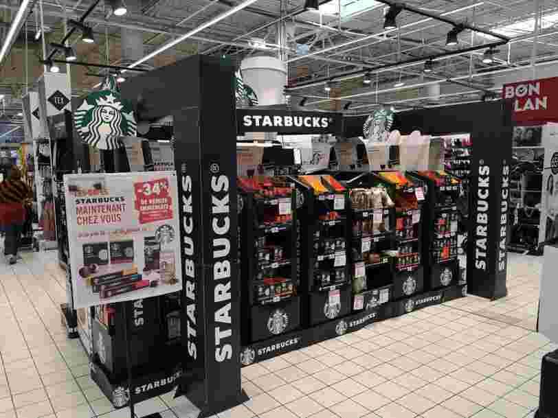 Starbucks va sortir des capsules de café en supermarchés pour votre Nespresso ou votre Dolce Gusto