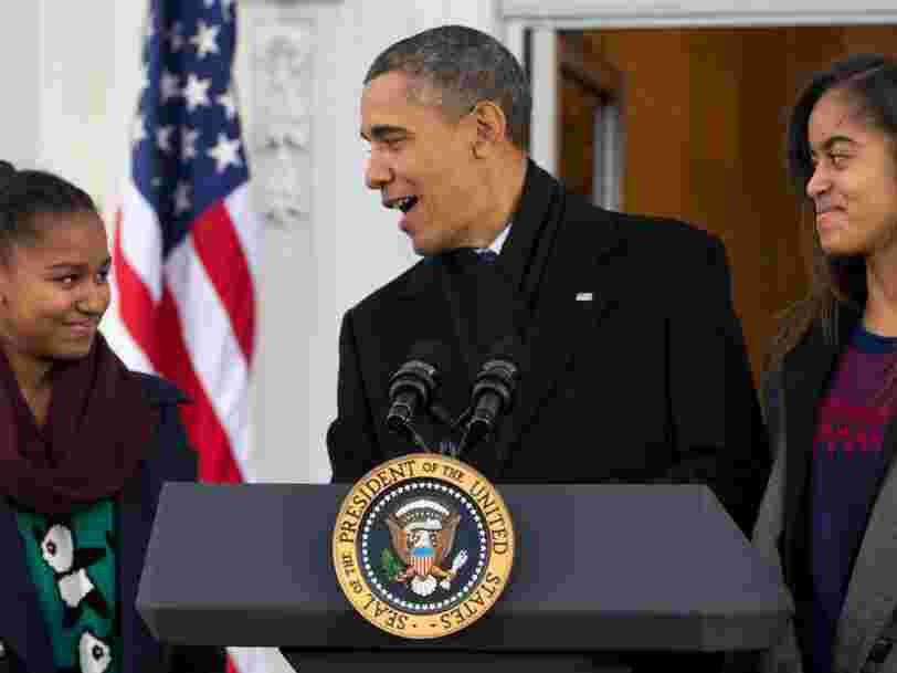 Barack Obama livre les leçons de management qu'il a apprises en élevant ses filles Malia et Sasha