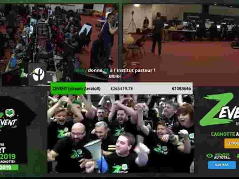 Z Event : des gamers récoltent 3,5 M€ au profit de l'Institut Pasteur en jouant en ligne pendant 50 heures