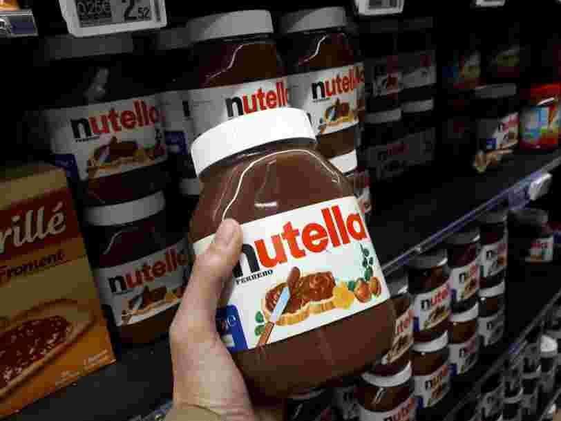 Une grève bloque la plus grosse usine de Nutella au monde, plus aucun Kinder Bueno produit