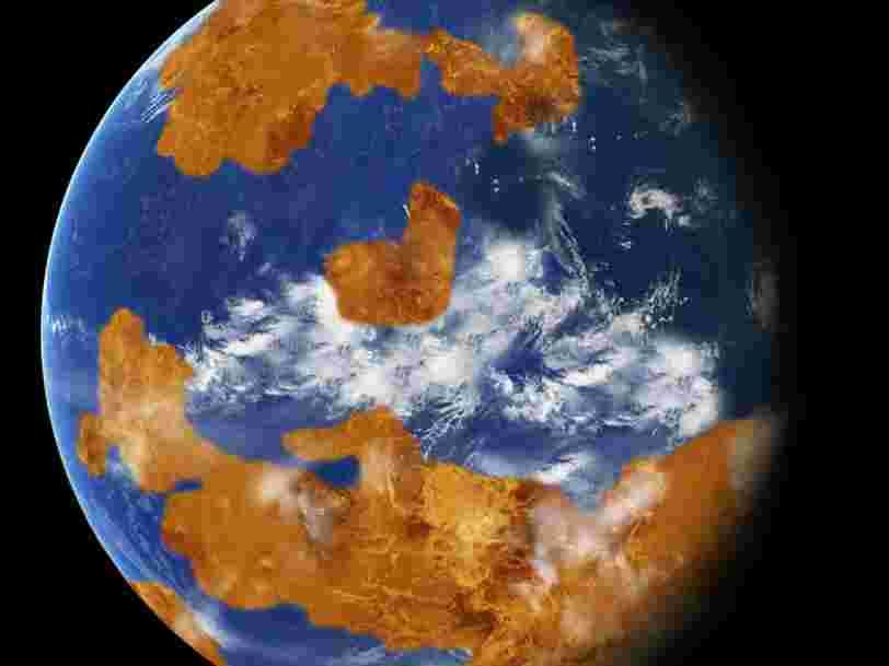 La planète Vénus pourrait avoir été habitable jusqu'à ce qu'une catastrophe survienne il y a 700 millions d'années