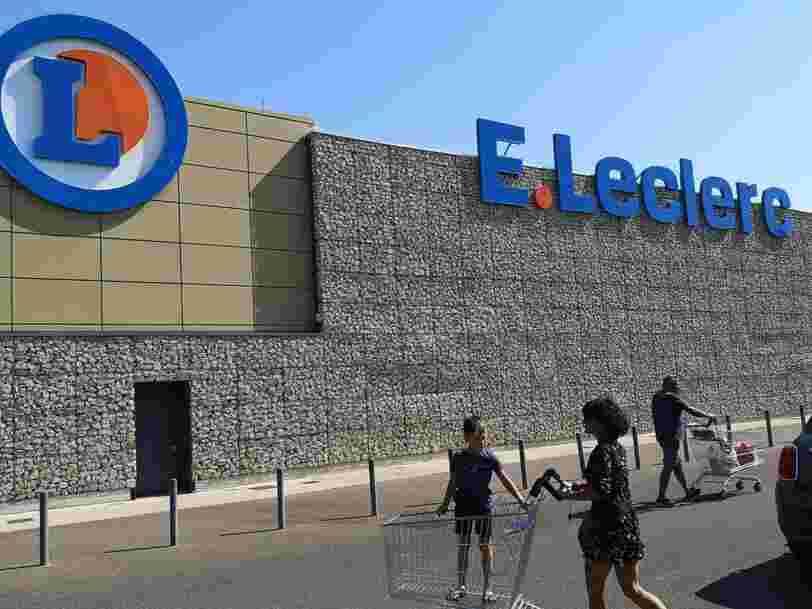 Leclerc serait intéressé par le rachat de 60 hypermarchés Géant Casino