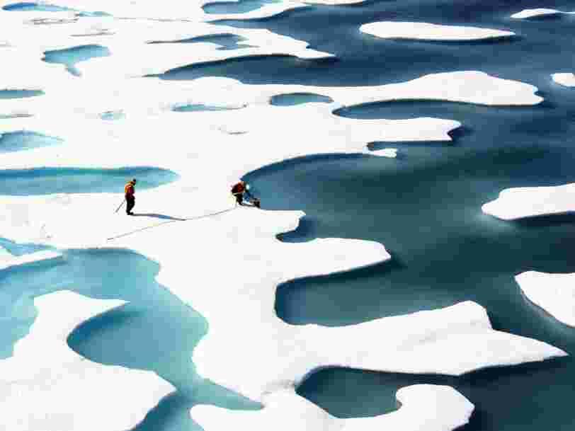 Des chercheurs ont découvert qu'ils étaient complètement à côté de la plaque sur le déplacement des glaces