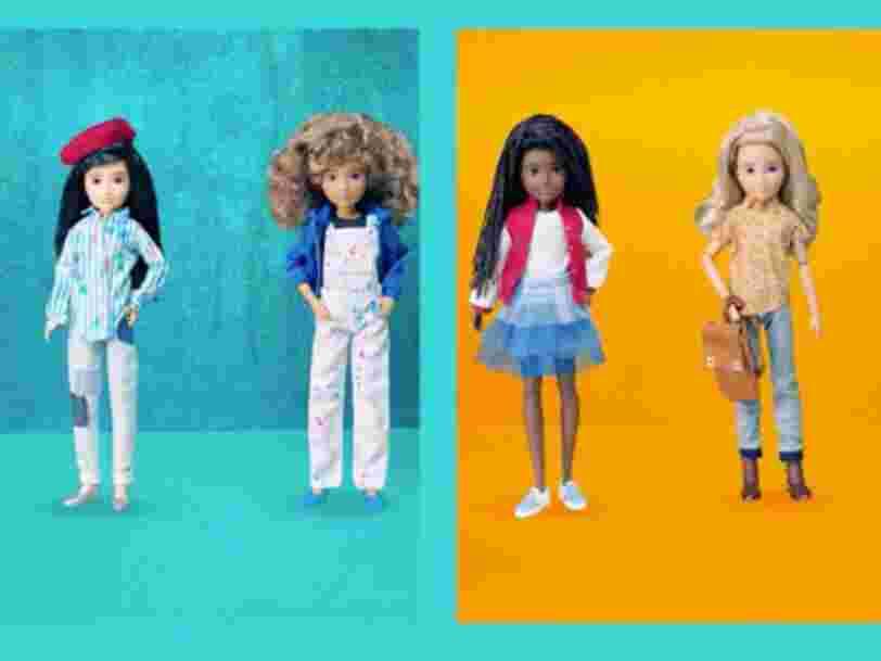 Vous allez pouvoir acheter des poupées Mattel non genrées et personnalisables