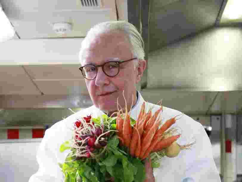 Alain Ducasse ne voit pas l'intérêt des fausses viandes comme celles produites par Beyond Meat