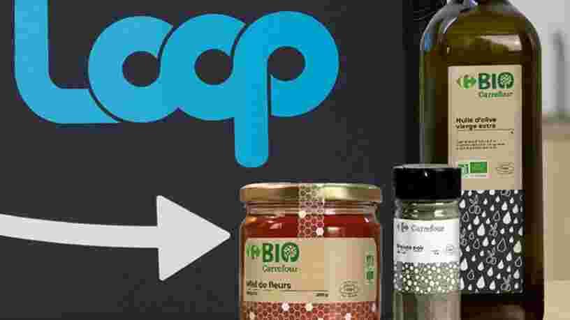 Avec Loop, vous pouvez maintenant acheter des produits Carrefour, Milka et autres dans un emballage réutilisable