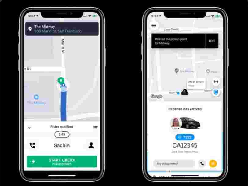 Uber travaille sur un système ultrasons pour s'assurer que vous montiez dans la bonne voiture
