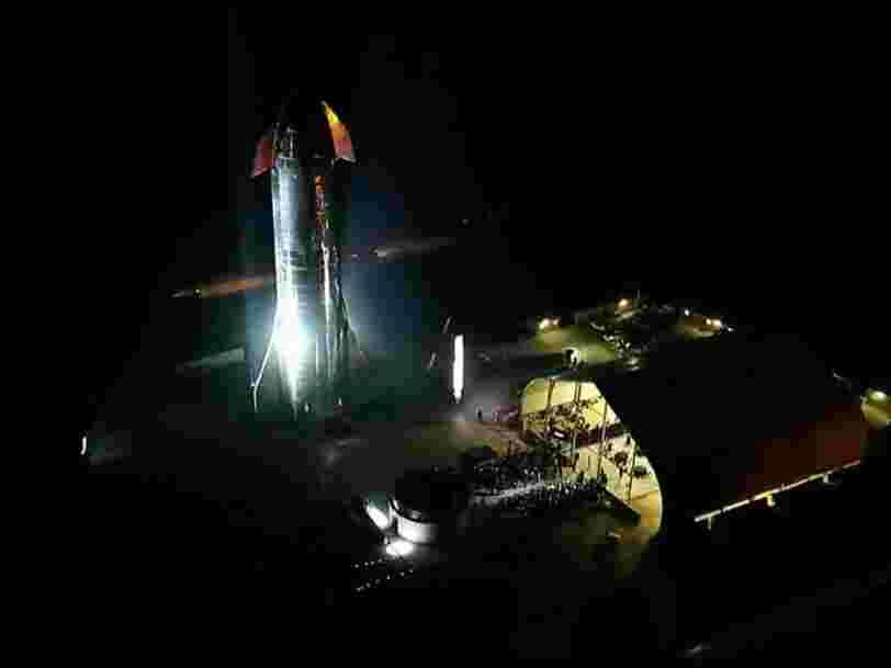 Elon Musk a dévoilé un prototype de sa fusée Starship pour aller sur Mars et développer une 'civilisation multiplanétaire'
