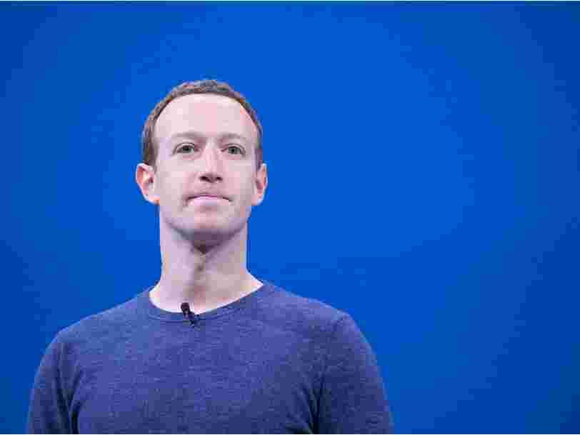 Mark Zuckerberg a un plan d'attaque pour concurrencer TikTok et il l'a expliqué aux employés de Facebook