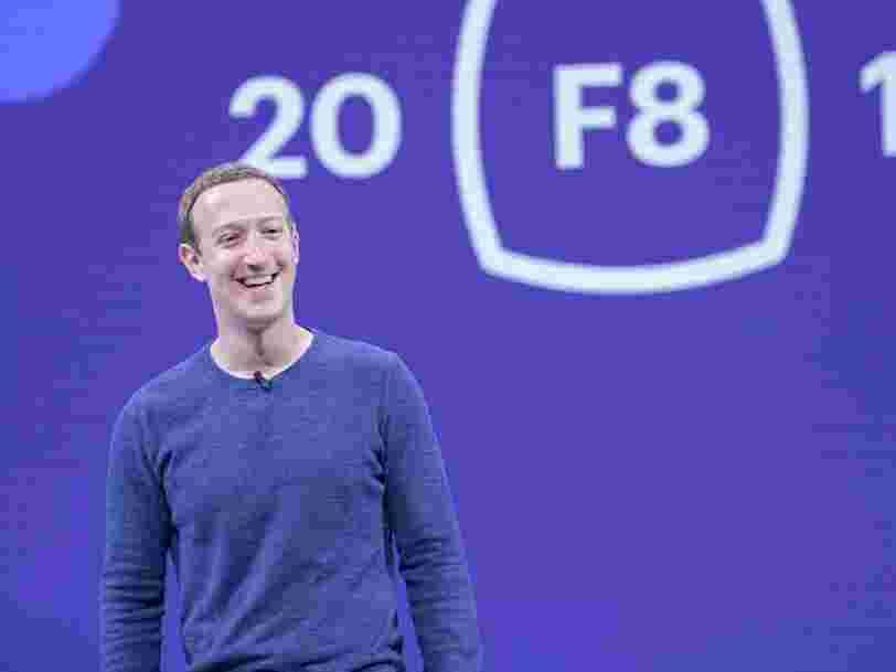 Mark Zuckerberg explique à ses salariés pourquoi c'est une bonne chose qu'il concentre les pouvoirs