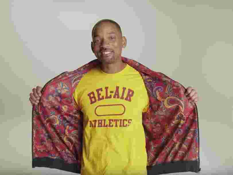 Will Smith sort une collection de vêtements inspirée du 'Prince de Bel-Air'