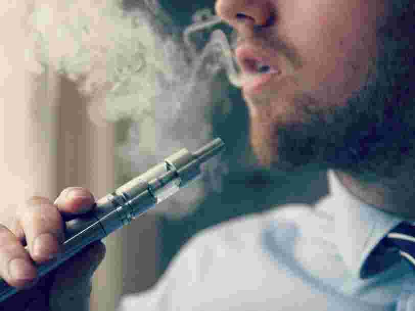 La cigarette électronique aurait eu le même effet qu'une exposition à des gaz toxiques sur les vapoteurs malades aux États-Unis